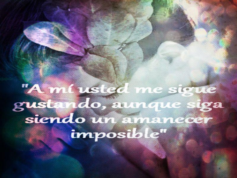 Imagenes Con Frases De Amor Imposible