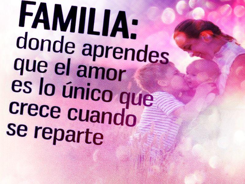 Mensajes Y Frases De Amor Para Mi Familia